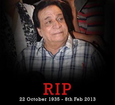 Kader Khan Passed Away - 8th Feb.2013