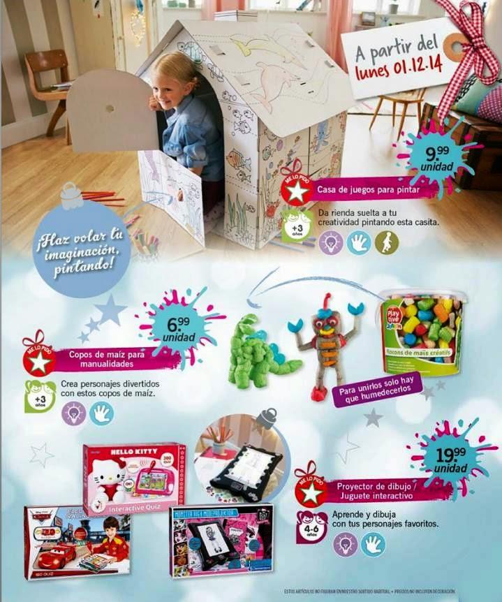 juguetes de pintar navidad 2014 lidl