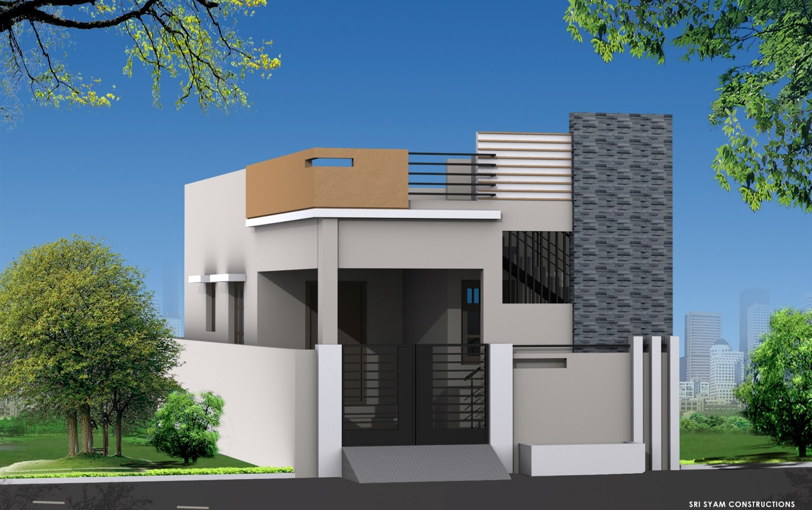 Nellore houses 2bhk independent house 19 lakhs only for Independent house plans