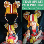 Team Spirit Pom Pom Hat