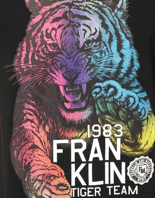 80s-Fashion-Franklin-Marshall-Tiger-T-Shirt