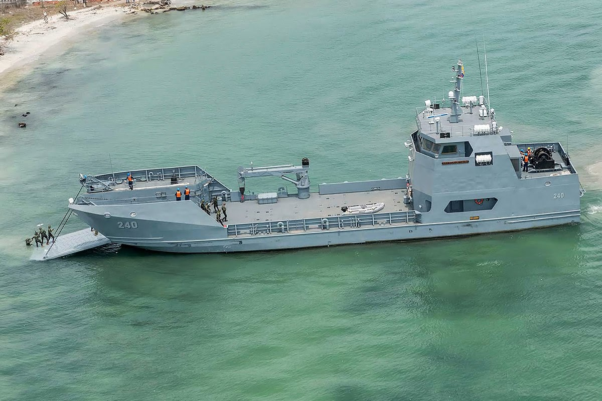 ARC Golfo de Tribuga Armada Colombia Navy