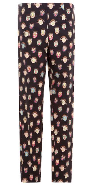 Clon pantalón máscaras Stella McCartney crucero 2015, Bimba y Lola SS 2015