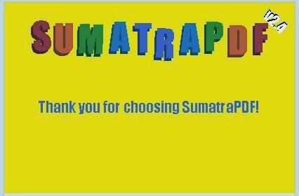 Membaca File PDF Dengan Program Aplikasi Sumatra