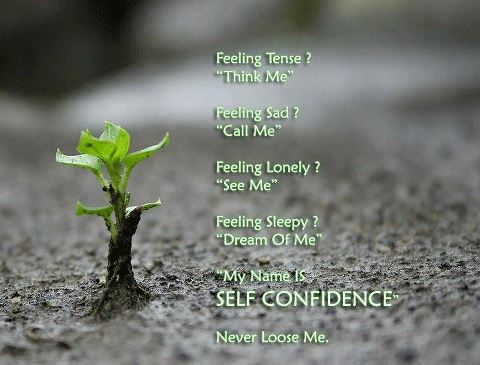 my name is self confidence inspirational picture quotes