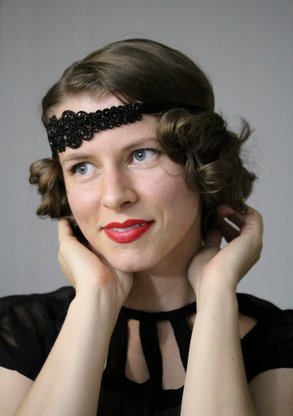 Perfect Gatsby Headband! #1920s #hair #fashion #flapper #vintage