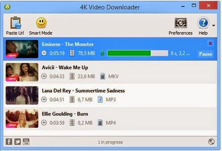 4k Video Downloader 3.5.2.1655 Final screenshot 1