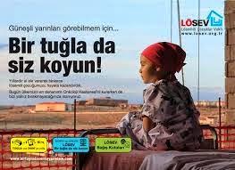 Lösev 'Bir Tuğlada Sen Koy' Kampanyası İle Yardıma Çağırıyor
