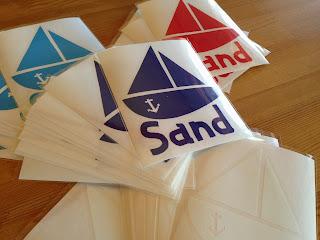 SandCafe サンドカフェ ステッカー