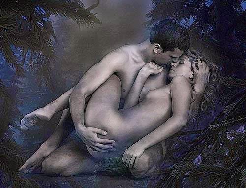 интимные фото мужчины и женщины голые