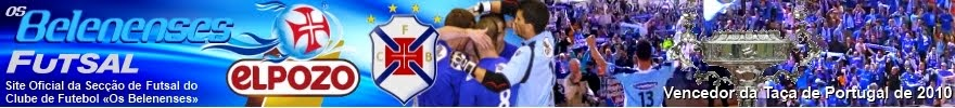 Belenenses/ElPozo Futsal, Site Oficial