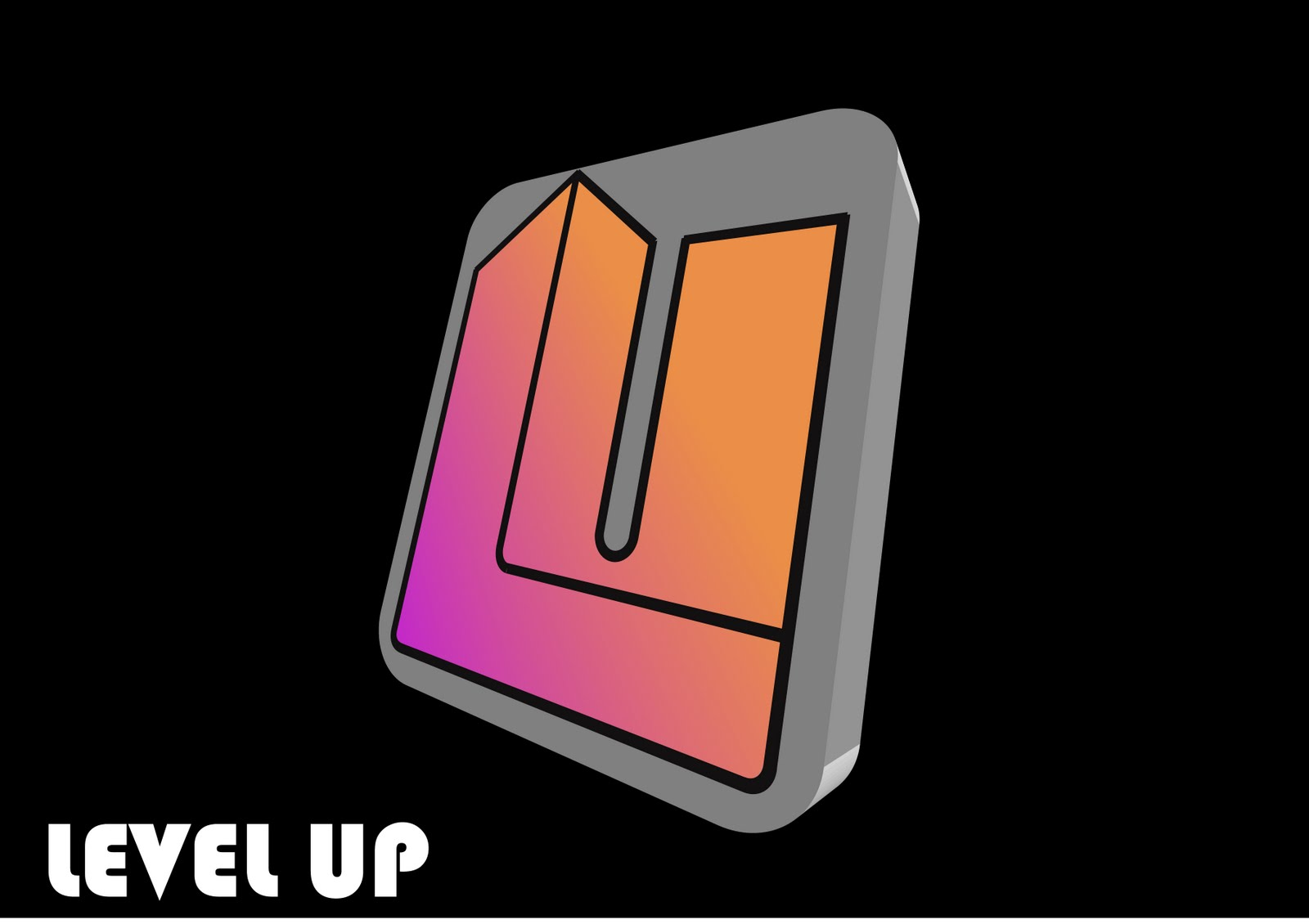 fatline animations level up logo