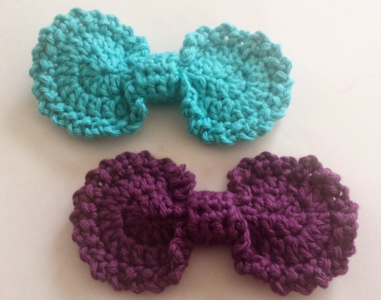 Crochet Bow : Indecisively Chic: Crochet Oval Bow