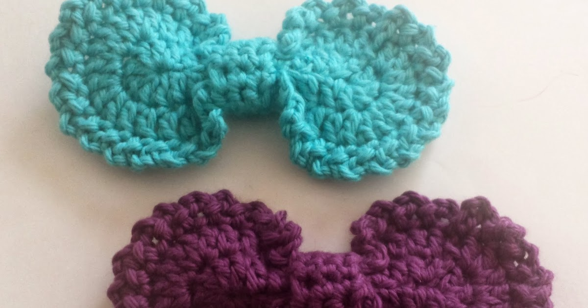 Crochet Stitch Oval : Indecisively Chic: Crochet Oval Bow