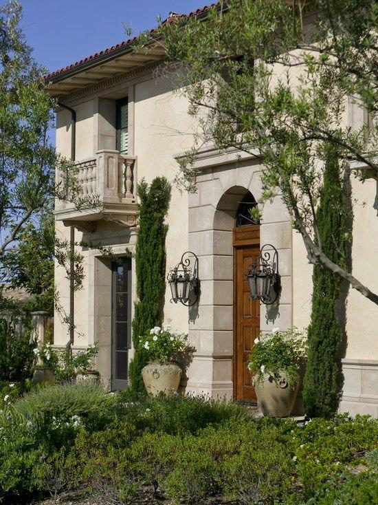 Fachadas de casas mediterranea i - Fachadas clasicas ...