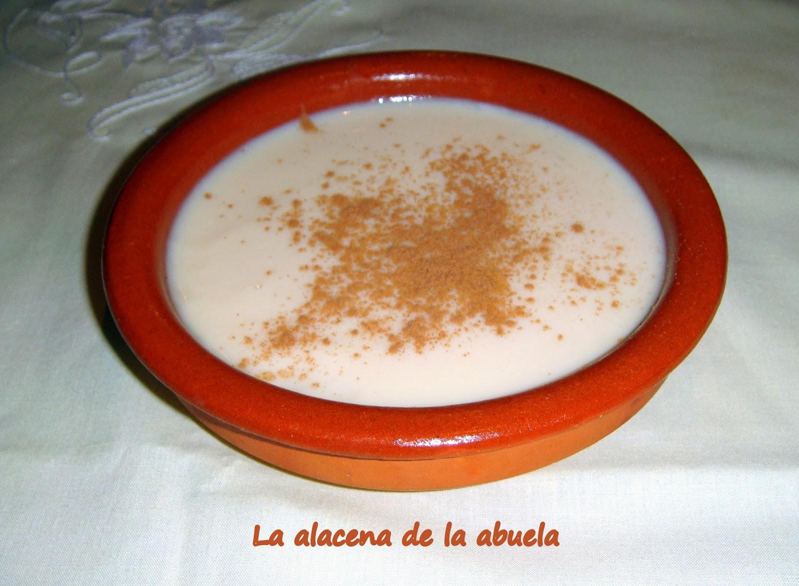 La alacena de la abuela carmen natillas de leche merengada - Cocina casera de la abuela ...