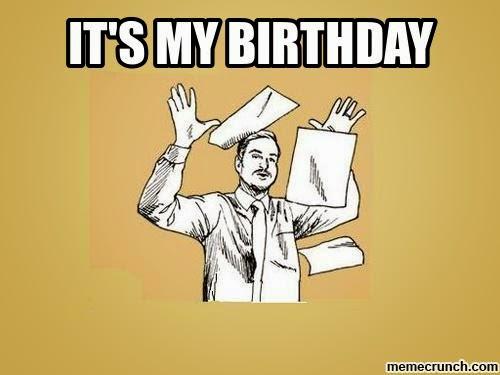 Funny It S My Birthday Meme : Book nerd paradise may
