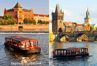 Prague venice vltava cruise