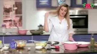 بانوراما فوود هيك نطبخ غفران كيالى طريقة عمل بطاطا بالبشاميل  والباناكوتا