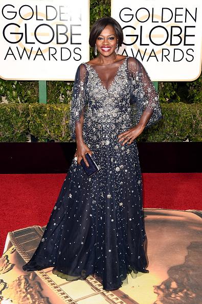 Golden globe awards, melhores looks, atriz, vestido longo, mãe da noiva, noiva, madrinha, viola davis, marchesa, 2016