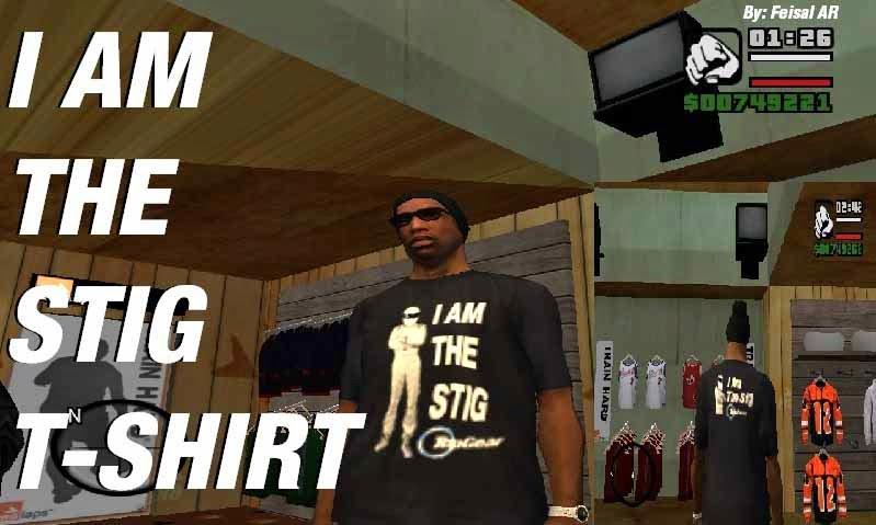 The Stig shirt