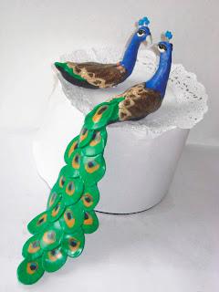 Easy Peacock Wedding Cake Ideas