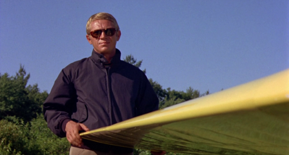 STEVE MCQUEEN EN THOMAS CROWN AFFAIR