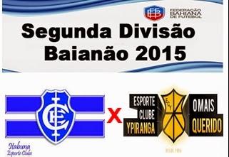 Itabuna e Ypiranga empatam em 1 a 1 no Estádio Luiz Viana Filho