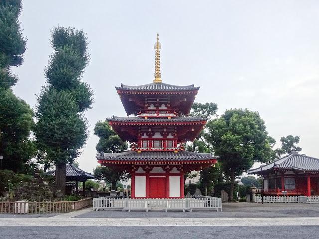 宝仙寺,三重塔,中野坂上〈著作権フリー無料画像〉Free Stock Photos