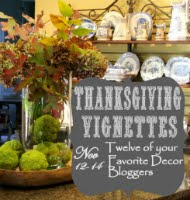 Thanksgiving Vignettes Blog Hop