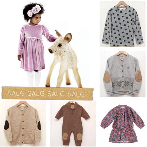 Opphørssalg barneklær