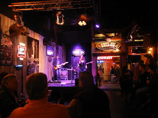 Whiskey Bent Saloon on Broadway street in Nashville, TN