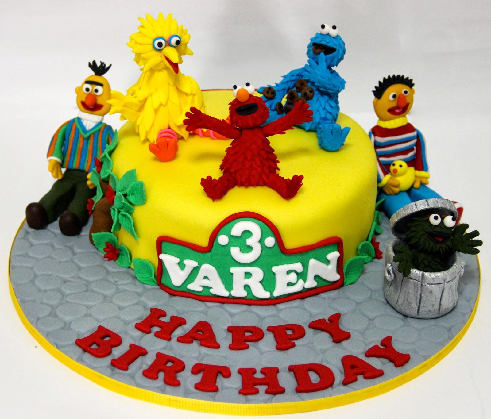Temptations Sesame Street Cake