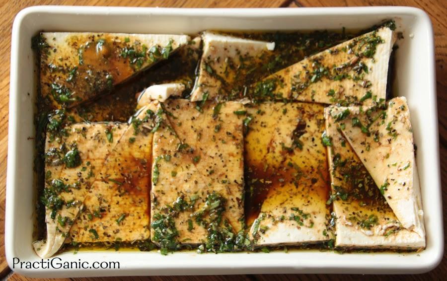 Grilled Mediterranean Tofu Steaks