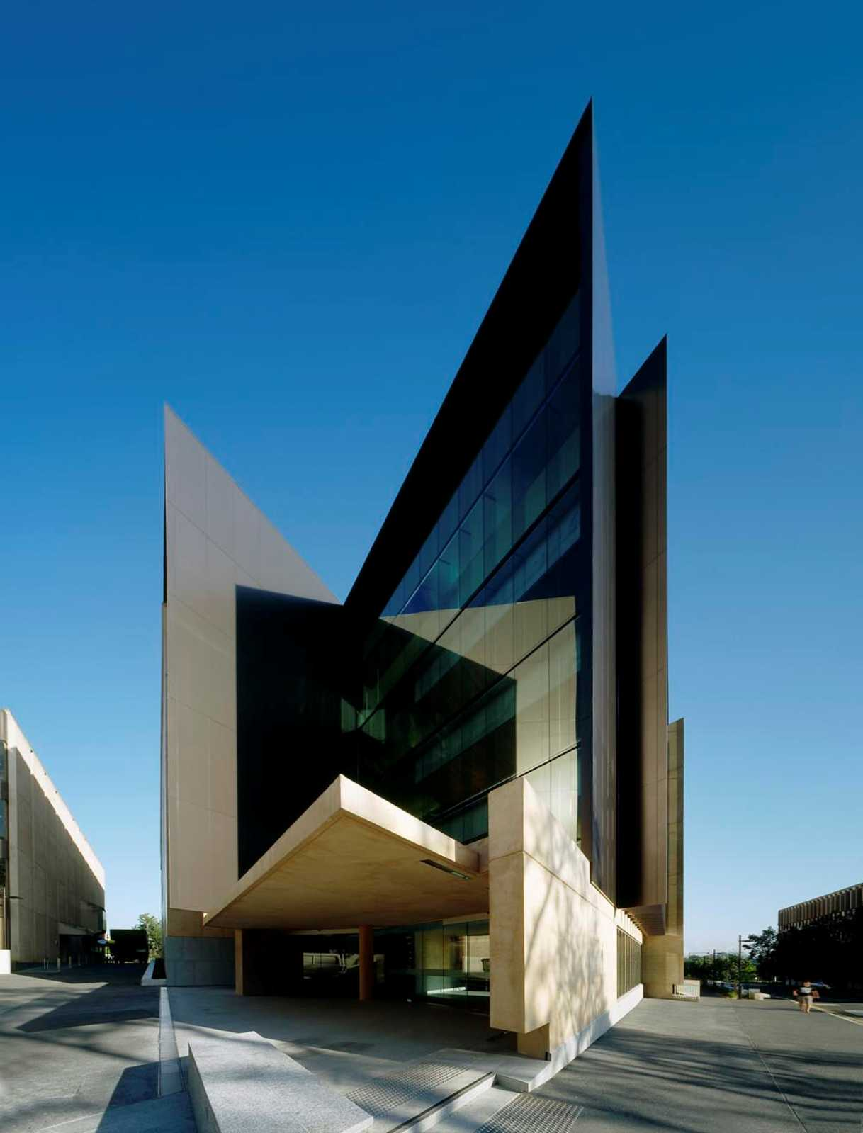 Sir llew edwards building by richard kirk architect for U of m architecture