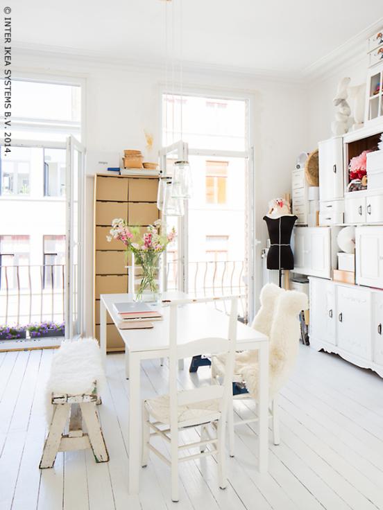 Decoracion Despacho Ikea ~   casas reales despachos ikea ikea family live white work zone como