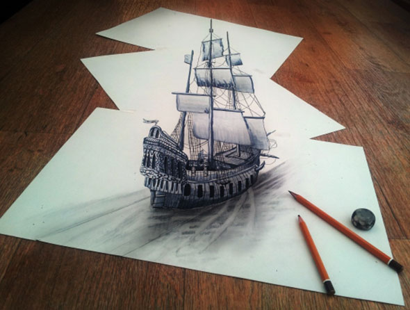 3d pencil art images