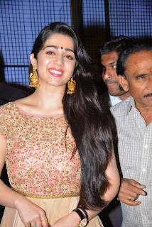 Actress Charmee Kaur Latest Pictures in Long Dress at Temper Movie Audio Launch  4.JPG