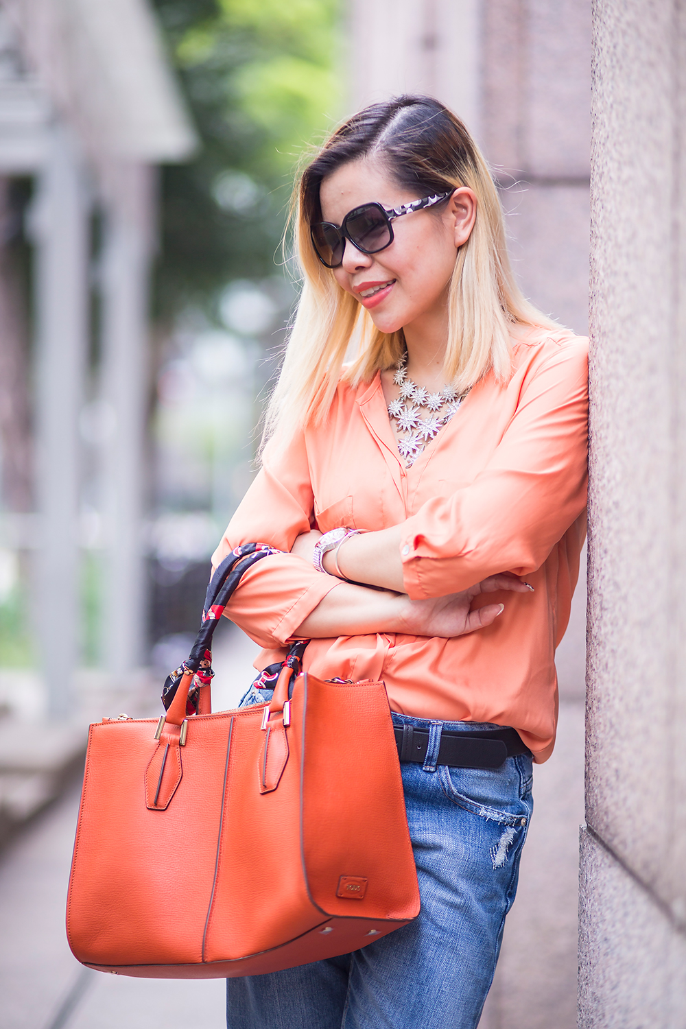 CrystalPhuong- Singapore Fashion Blog- Look chic in Boyfriend jeans