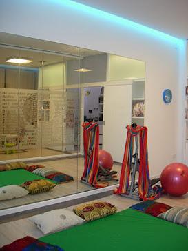 La sala de ejercicio y  relajación