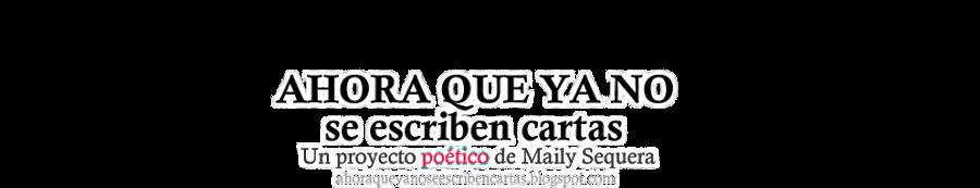 ahoraqueyanoseescribencartas.blogspot.com