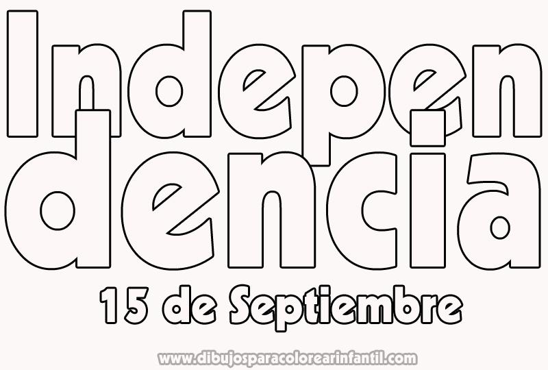 15 de septiembre dibujos para colorear banderas - Imagui