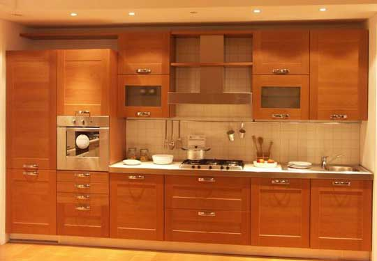 New kerala kitchen cabinet styles designs arrangements for Model kitchen images