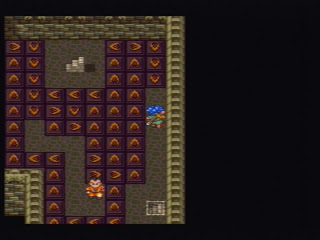 Walkway puzzle! Probably Dragon Quest's most annoying contribution to the genre.
