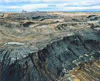 An oil sands extraction operation in Alberta, Canada. (Photo credit: Lou Gold/Flickr) Click to Enlarge.