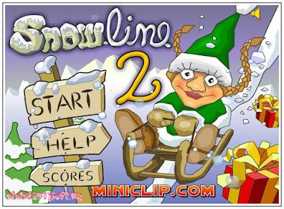 http://www.flashygamey.com/skill-games/snowline-2