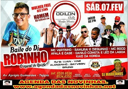 ODILON CLUB BREGA MUSIC - BAILE DO DJ ROBINHO.