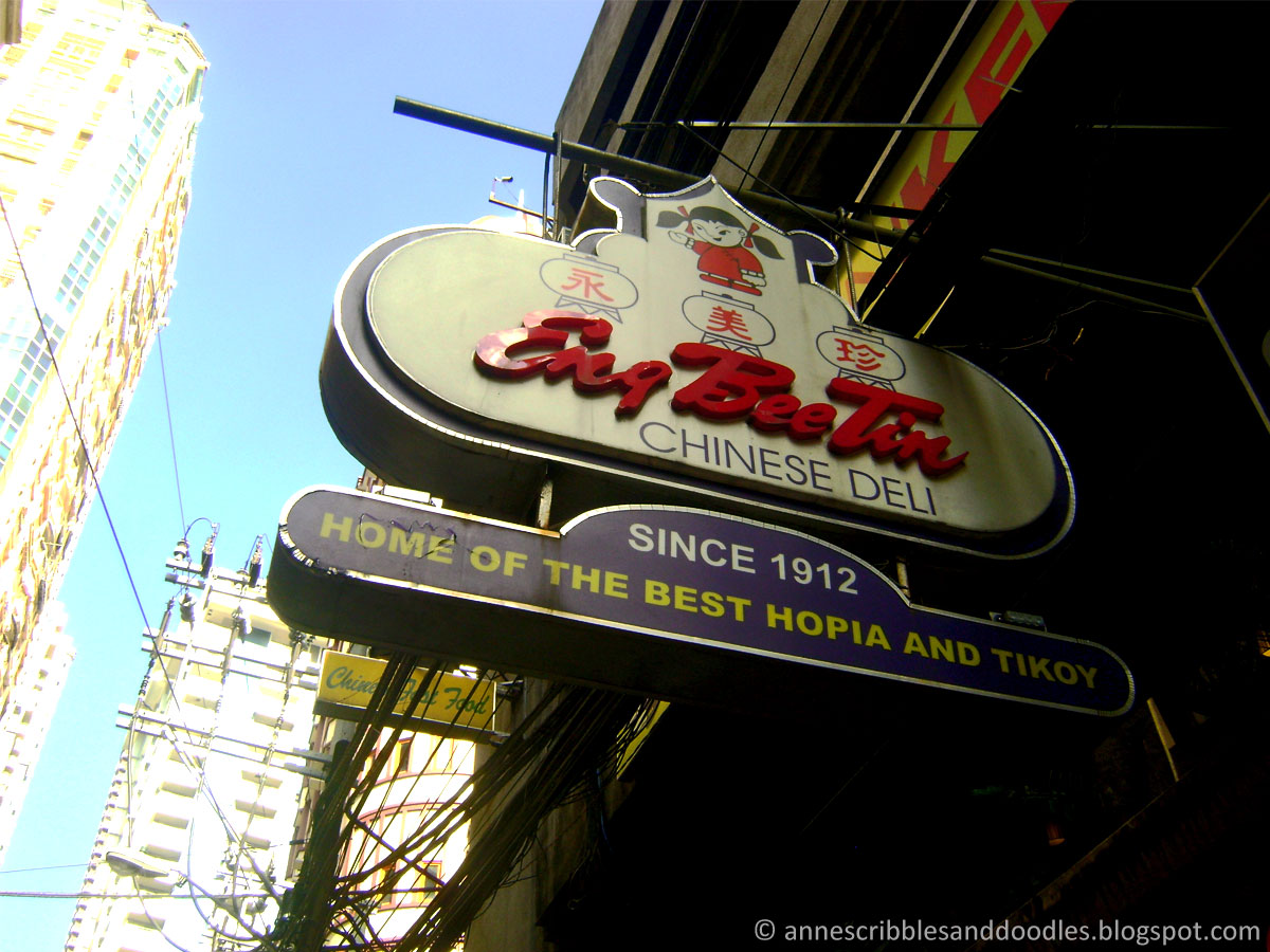 Binondo Manila Chinatown: Eng Bee Tin Chinese Deli