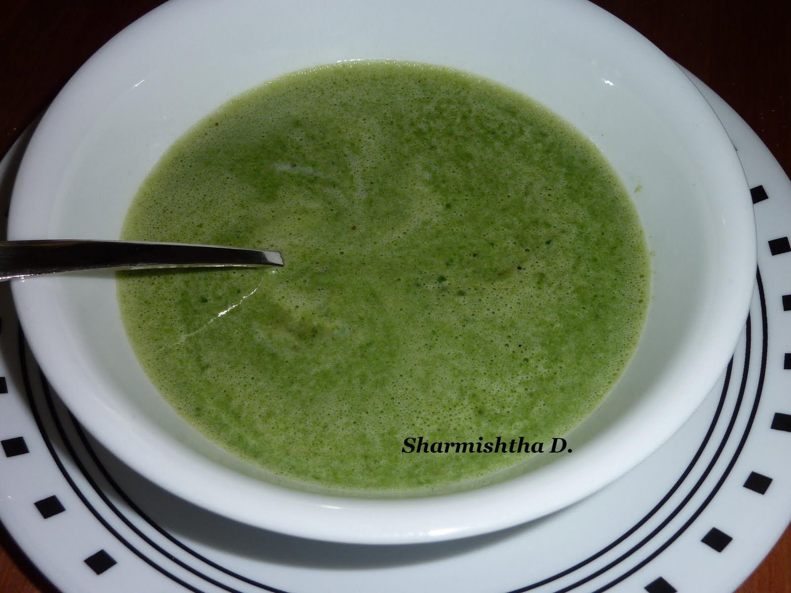 my onesided affair with food healthy spinach soup