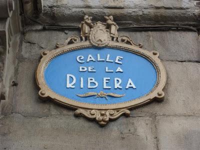 Calle de la Ribera en Bilbao